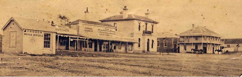 learmonth St  in the 1880s