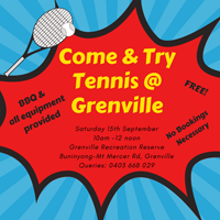 Tennis at Grenville