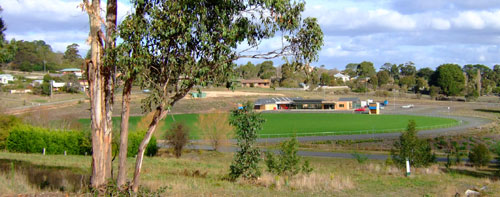 Buninyong cricket/football ground