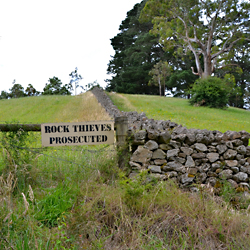 rock thieves prosecuted